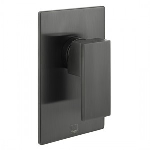 Individual by Vado IND-NOT145A-BLK Notion Manual Shower Valve Brushed Black