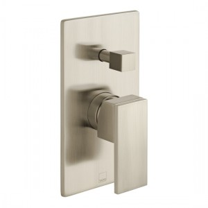 Individual by Vado IND-NOT147A-BRN Notion Manual Shower Valve with Diverter Brushed Nickel