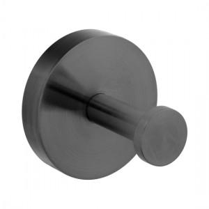 Individual by Vado IND-SPA186-BLK Spa Robe Hook Brushed Black