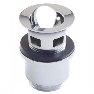 Vado PEX-392-S-C/P Slotted Captive Basin Waste 1.1/4 inch
