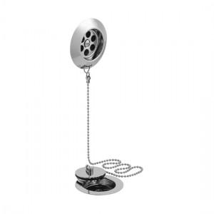Vado PEX-KITB-STOW-C/P Stowaway Bath Waste Metal Plug & Chain 1.1/2 inch