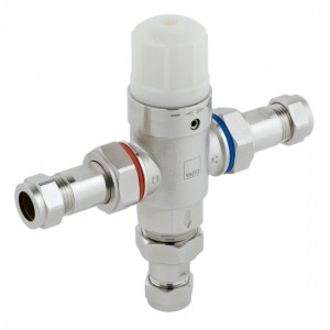 Vado PRO-5001-N/P Protherm In-Line Thermostatic Valve with 15mm Fittings