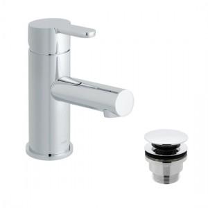 Vado SEN-100F/CC-C/P Sense Mono Basin Mixer with Universal Waste 1 Taphole Chrome