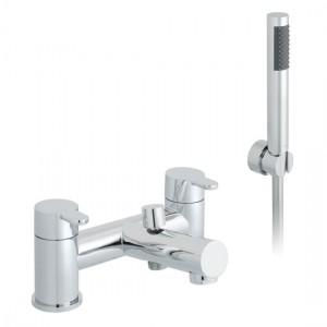 Vado SEN-130+K-C/P Sense Bath Shower Mixer Tap with Shower Kit
