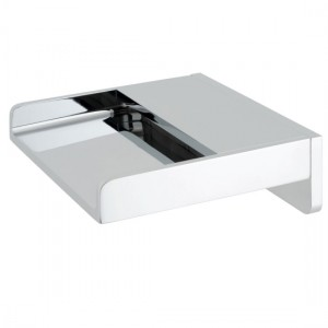 Vado SYN-240/W-CP Synergie Wall Mounted Waterfall Bath Spout