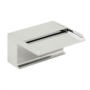 Vado SYN-240D-CP Synergie Deck Mounted Waterfall Bath Spout