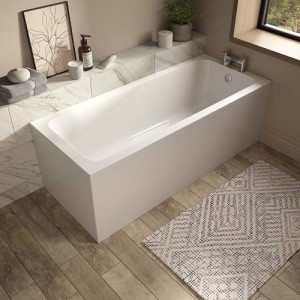 The White Space VAL1770 Vale Single Ended Bath 1700 x 700mm - White