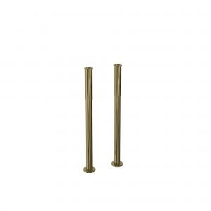 Burlington decorative pipe shrouds (under rim) - pair - Gold [W6GOLD]