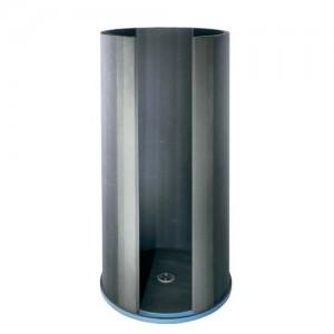 Wedi Fundo Round Trollo Designer Shower Wall Extension Kit (h) 50cm  [041709052]