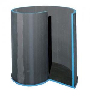 Wedi Fundo Spiral Nautilo Designer Shower Shower Base - Left hand   [073736065]