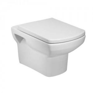 Tavistock Vibe Soft Close WC Seat with chrome fittings - White [TS700S]