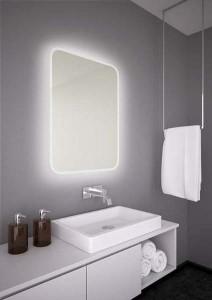 The White Space Hey U Illuminated Mirror 50 x 70cm  [HEY57]