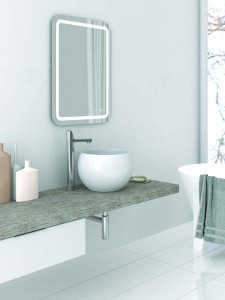 The White Space Indy Illuminated Mirror 60 x 60cm  [WSM010]