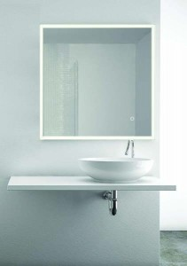The White Space Frame Illuminated Mirror 60 x 80cm  [WSM020]