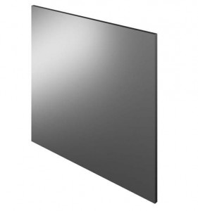The White Space Scene Mirror 45 x 60cm - Gloss Charcoal  [WSSM45CH]