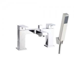 The White Space Forte Bath Shower Mixer - Chrome [WSTF04]