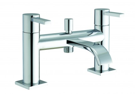 The White Space Fall Bath Shower Mixer - Chrome [WSTF54]