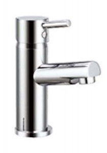 The White Space Pin Mini Monobloc Basin Mixer - Chrome [WSTP01]