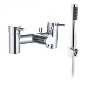 The White Space Pin Bath Shower Mixer - Chrome [WSTP05]