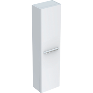 Geberit Y824000000 MyDay 1500mm Tall Cabinet with One Door - White