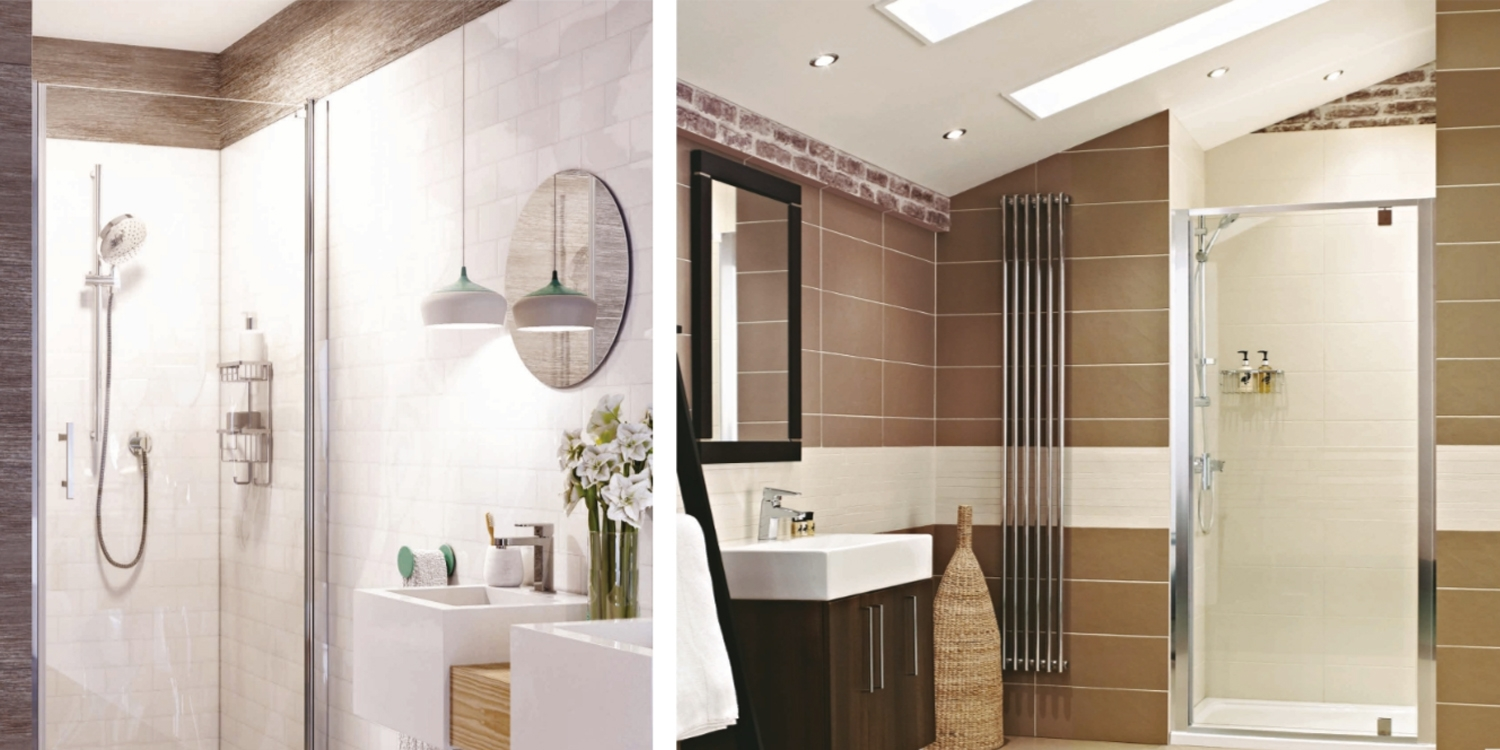 infinita shower enclosure, shower enclosure the polumbline, shower cubicle