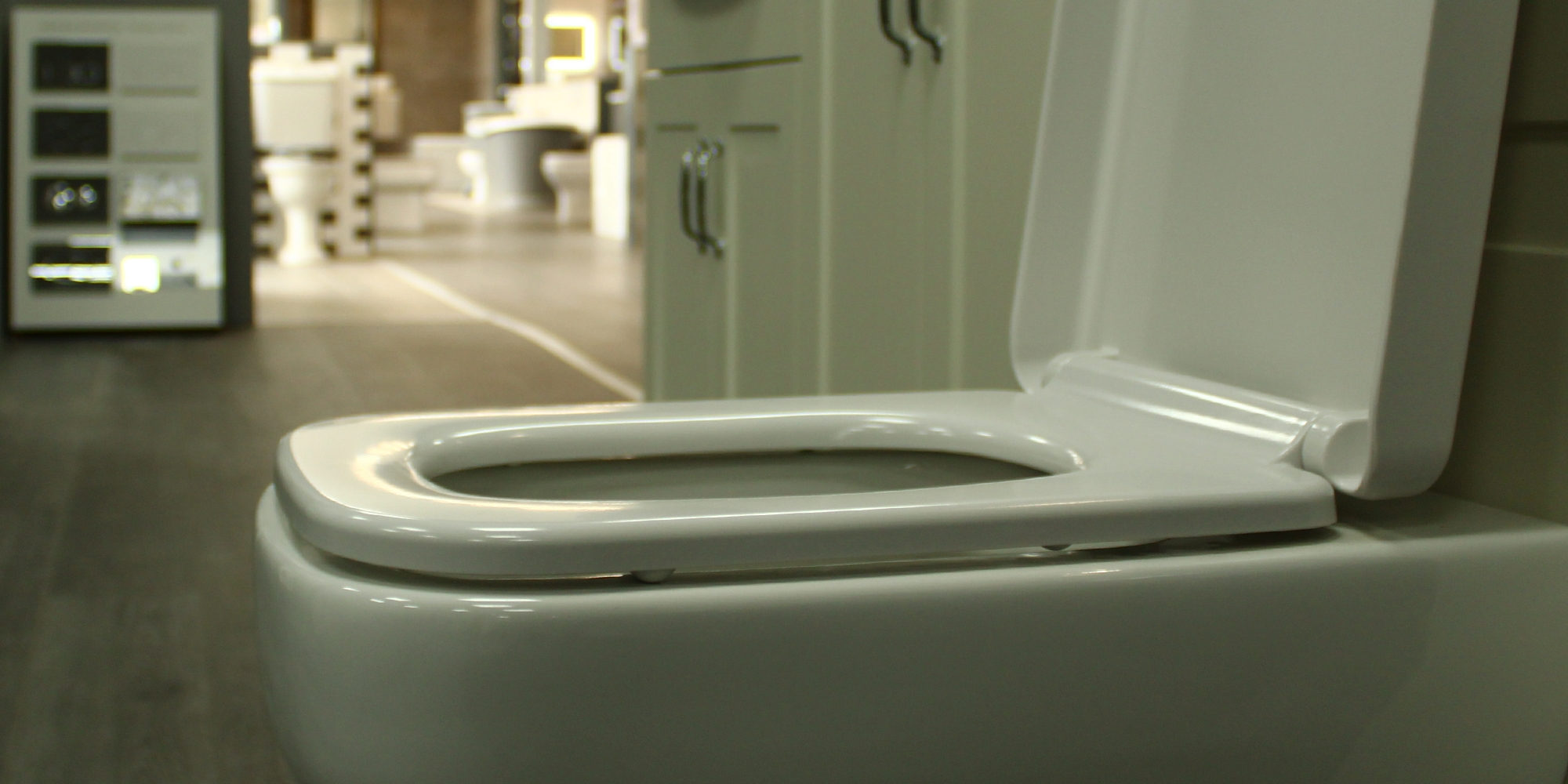 toilet showroom, toilet display, bathrooms, chester bathrooms