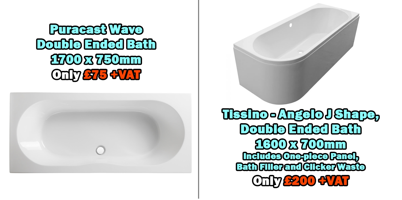 baths sale the plumbline, bath sale