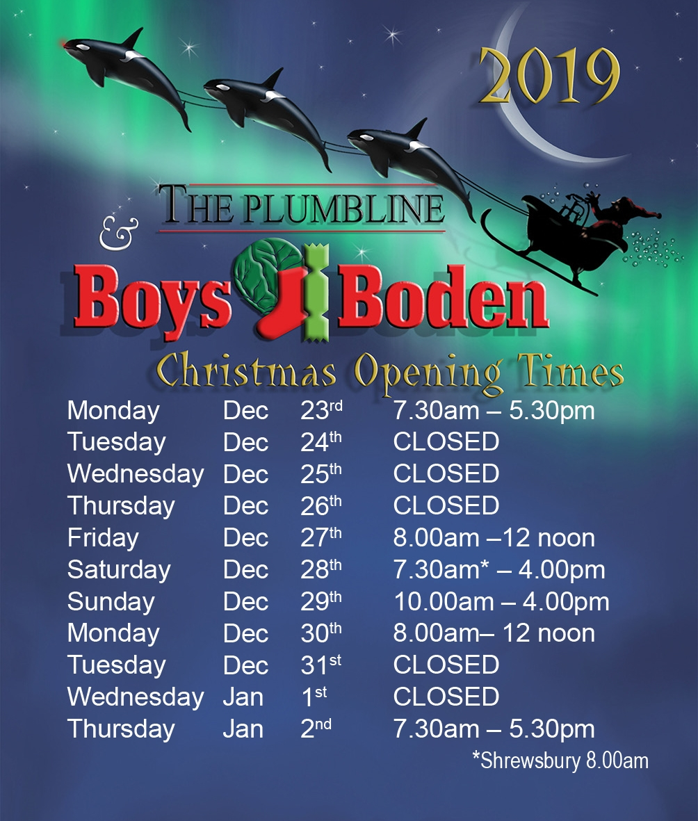 boys and boden, the plumbline, opening times