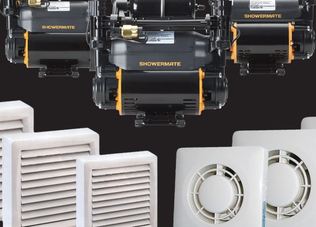 Shower Pumps and Extractor Fans